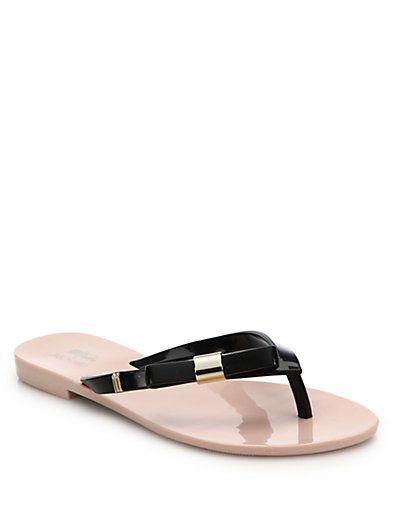f32dd18e5 MELISSA By Jason Wu Harmonic Bow Flip Flops.  melissa  shoes  sandals