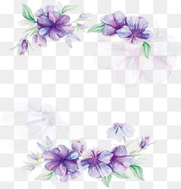 2020 的 Watercolor Flower Poster Vector Png Watercolor Plants
