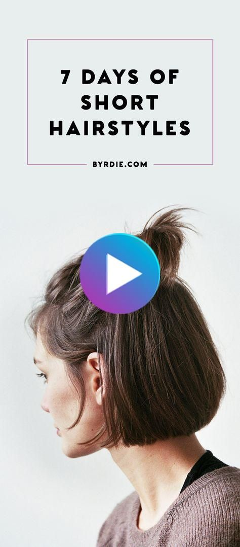 14 Chic Ways To Style Short Hair In 2020 Short Hair Styles Easy Short Hair Styles Hair Styles
