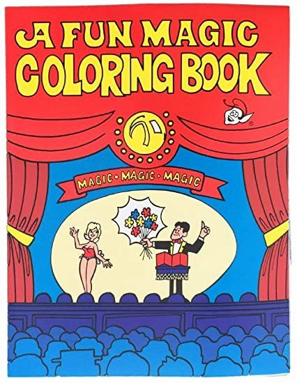 Coloring Book Magic Trick Best Of Royal Magic Coloring Book All Blank Pages In 2020 Coloring Books Magic Illusions Magic Tricks