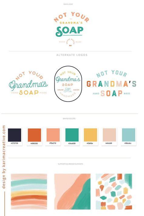 Colorful branding inspiration