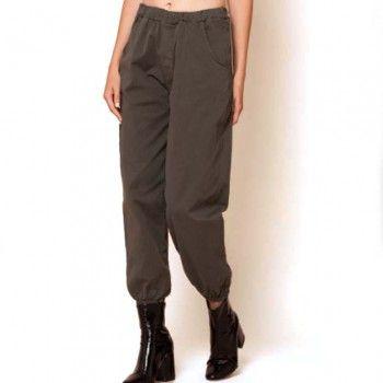Pantalon Ancho Kaki Con Elastico En Tobillos Y Bolsillos Disponible En Trastostattoo Com Https Trastostattoo Com Pantalones 2167 Harem Pants Fashion Pants