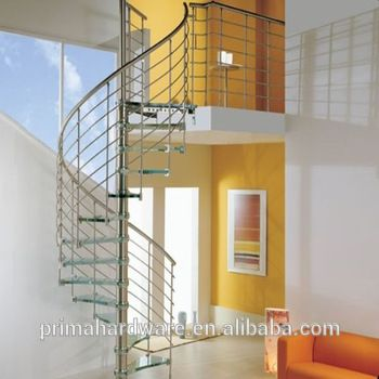 Prima Exterior Steel Used Spiral Staircase For Sale Staircase | Used Steel Stairs For Sale | Hinged | Portable | U Shaped | Garage | 8 Foot