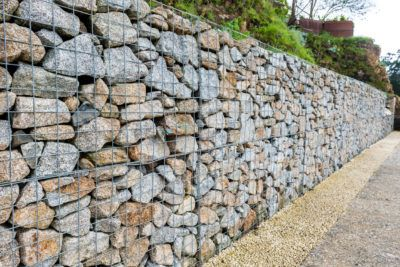 What Is A Gabion Wall And What Are Gabion Walls For Gabion Wall Gabion Retaining Wall Stone Walls Garden