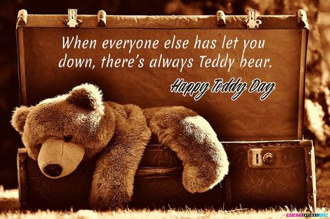 Teddy Day Greetings Quotes
