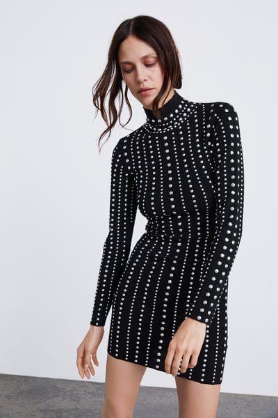Punto TachasVestidos Tachas En Zara Vestido Y 2019Moda Shoes y8nwm0NvO