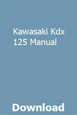 kawasaki lawn mower manual