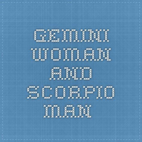gemini woman and scorpio man love