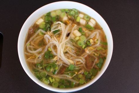 Pho ( vietnami marhahús ) leves