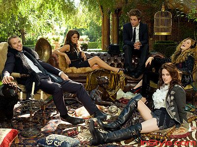 The Cast - Twilight Fashion Shoot Extras - The Twilight Saga - Celebrity - InStyle