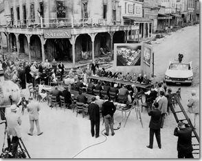 Century City was formerly part of the back lot of Twentieth Century-Fox Studios!