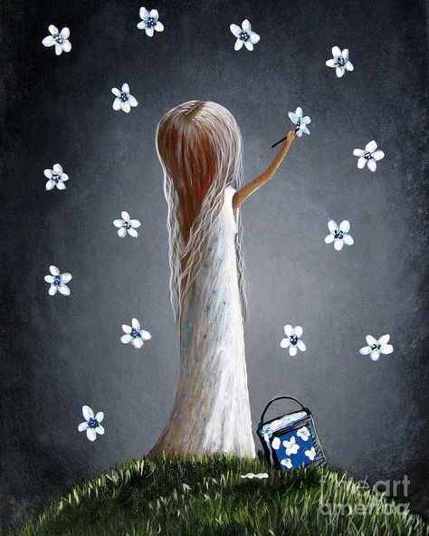 Whimsical Paintings Painting - Whimsical Paintings by Shawna Erback