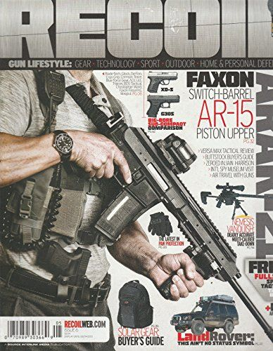 RECOIL MAGAZINE,ISSUE, 2013 ISSUE, 06 FAXON SWITCH -BARREL