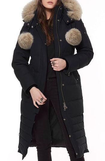 Beautiful Moose Knuckles Bridle Path Down Parka with Genuine
