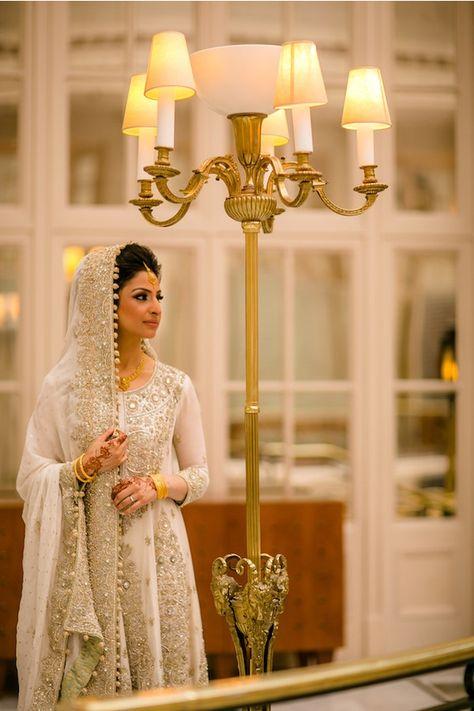 Bridal Elegance — Faiza & Faisal's Classy Waldorf West End Muslim...