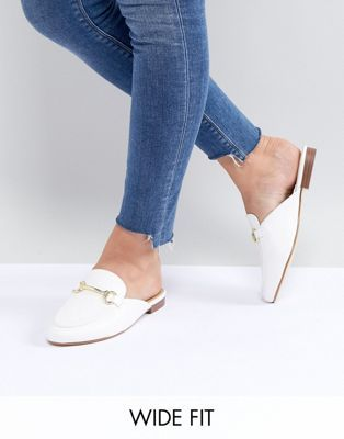 8d5bb9a3cfd RAID Wide Fit Nancy Flat Mules in 2019 | shoess. | Flat mules, Shoes ...