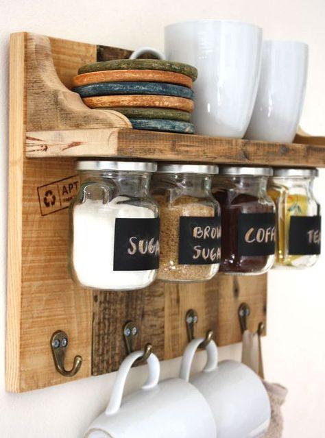 Mensola da cucina realizzata a mano dagli artigiani Xlab nella ...