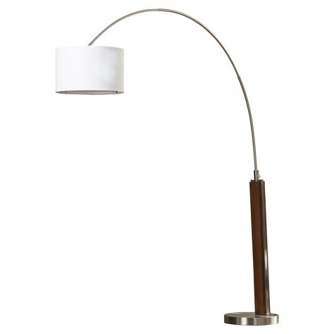 "Brawner 86.5"" Arched Floor Lamp"