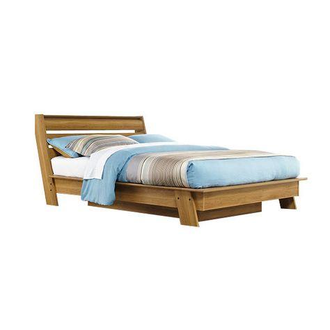 jconrad furniture sauder soft modern queen platform bed 415138 43999 httpwwwjconradfurniturecomsauder soft modern queen platform bed - Diy Knigin Kopfteilplne
