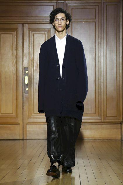 Hed Mayner Menswear Fall Winter 2018 Paris
