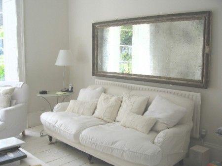 Love The Sofa Mirror Above