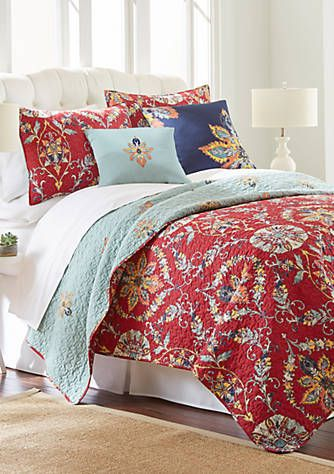 Elise James Home Laken Bedding Collection Quilt Sets Bedding Bedroom Furnishings Bedding Collections
