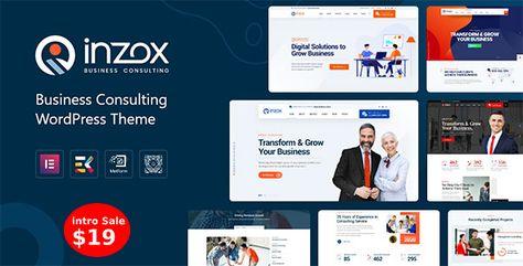 Inzox — Business Consulting WordPress Theme   Stylelib