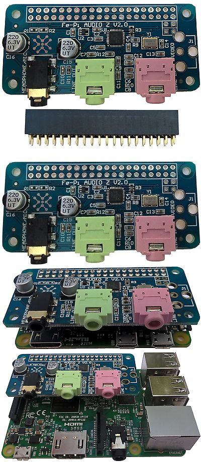 Other Components and Parts 16145: Fe-Pi Raspberry Pi Zero 2