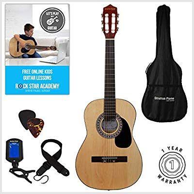 Acoustic Guitar Package Classical Natural Musical Instruments Acoustic Best Instruments Classical Guitar Natural Package Uk Guitar Acoustic Classical Guitar