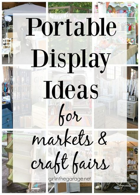 Portable Display Ideas for Markets and Fairs