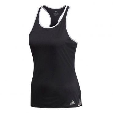adidas Club tennis tanktop dames black   Sportkleding ...