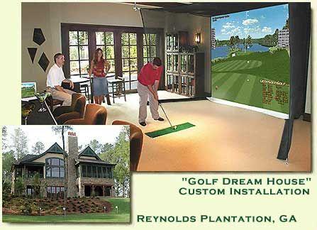 Golf Simulator Home Google Search Golf Room Golf Training