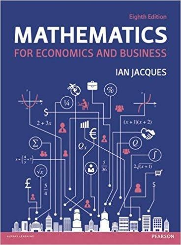 Mathematics For Economics And Business 8th Edition Pdf Version