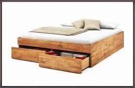 Bildergebnis Fur Bett 140x200 Holz Mit Stauraum Furniture Home Bed