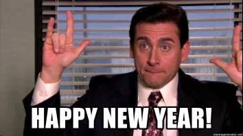 Michael Scott From The Office Wishes You A Happy New Year In 2019 Check Out Our Funny New Year Memes N Funny New Years Memes New Year Meme Funny New Year