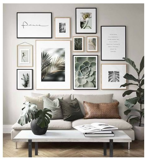 HOW TO HANG A GALLERY WALL IN A COUPLE SIMPLE STEPS