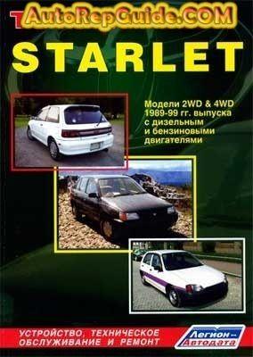 Download Free Toyota Starlet 1989 1999 Repair Manual Image By Autorepguide Com Toyota Starlet Repair Manuals Toyota