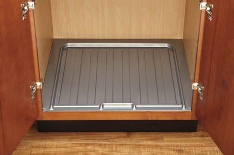 Under Sink Drip Tray Dreamline Cabinets Drawer