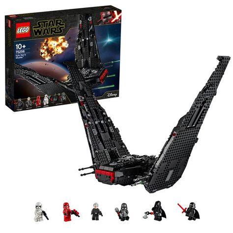 Buy Lego Star Wars Kylo Ren S Shuttle Building Set 75256 Lego Lego Star Wars Lego Star Star Wars Set