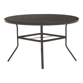 Outstanding Garden Treasures Pelham Bay Round Dining Table 48 In W X 48 Alphanode Cool Chair Designs And Ideas Alphanodeonline