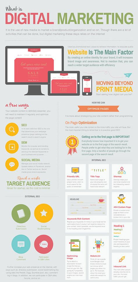 30 Cheatsheets & Infographics For Digital Marketers - Hongkiat