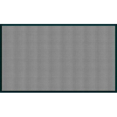 Symple Stuff Hulbert Waterhog Squares Classic Outdoor Door Mat Mat Size 4 X 6 Colour Medium Grey In 2020 Bungalow Flooring Door Mat Symple Stuff