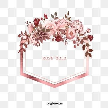 Elegant Deluxe Rose Gold Watercolor Flower Leaf In 2020 Rose Gold Flower Flower Background Wallpaper Free Watercolor Flowers