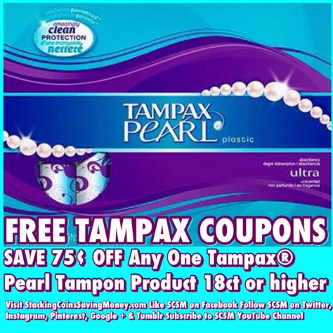 photo relating to Tampax Coupons Printable referred to as Totally free TAMPAX Discount codes 2015 Help you save 75¢ Upon Any Box of Tampax