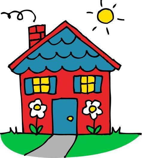 33 houses clipart ideas | house clipart, clip art, illustration  pinterest