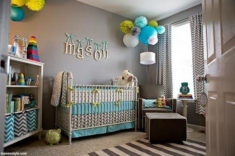 Deco Bebe Gris Et Bleu Avec Images Deco Chambre Bebe Garcon Decoration Chambre Bebe Deco Chambre Bebe