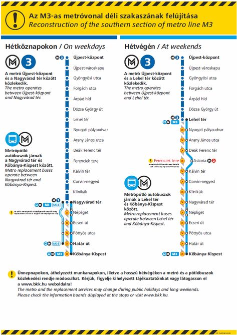 3 As Metro Utvonal Terkepe Es Allomasai Budapest Ujpest Kozpont