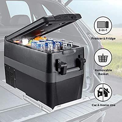 Amazon Com Joytutus Car Freezer 42 Quart 40l Portable Refrigerator Rv Fridge 4 50 Car Refrigerator Electr Electric Compressor Car Refrigerator Car Cooler