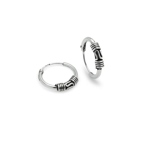 5657763bc Hoops and Loops Sterling Silver 10mm 12mm and 14mm Polished and Bali  Endless Hoop Earrings Set of 3 *** Want added information? Click the photo.