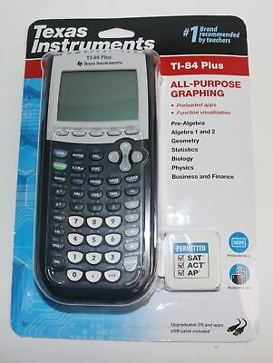 Texas Instruments Ti 84 Plus Graphing Calculator Black Ebay In 2020 Graphing Calculator Graphing Calculator